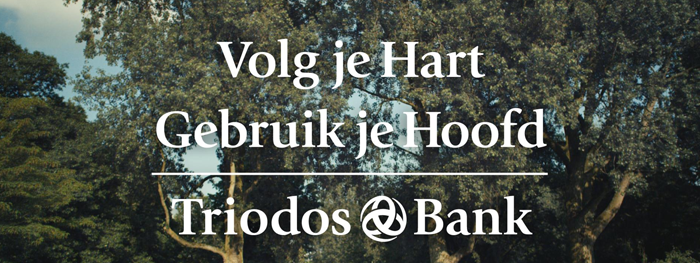 Communicatie van de Triodos Bank
