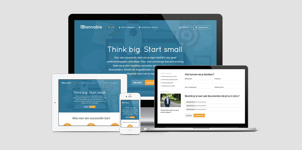 Webdesign Plannable