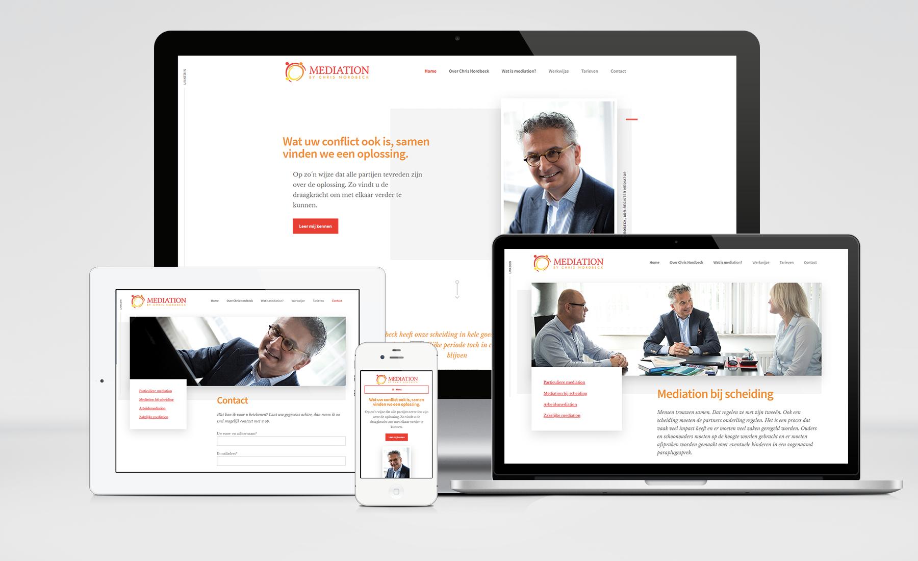 Nordbeck Mediation website